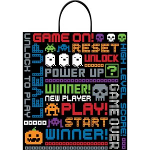 Video Game Trick-or-Treat Bag
