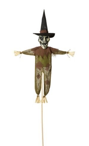 Scary Witch Yard Stake