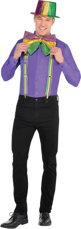 Adult Fancy Mardi Gras Accessory Kit