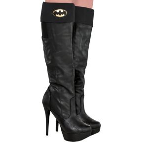 Adult Batgirl Boot Covers - Batman