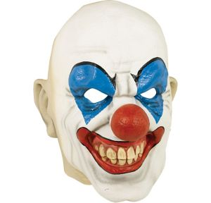 Adult Bald Clown Mask
