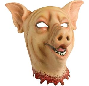 Adult Bloody Pig Head Mask