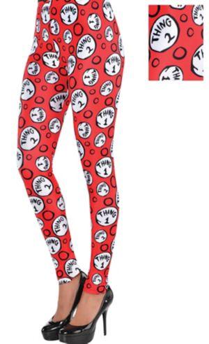 Adult Thing 1 & Thing 2 Leggings - Dr. Seuss