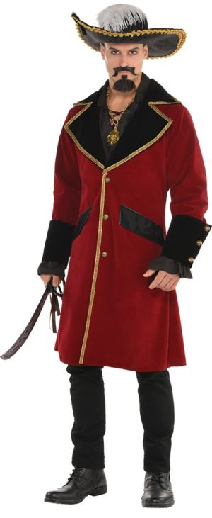 Adult Pirate Captain Jacket