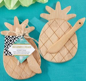 Pineapple Cheese Board & Spreader