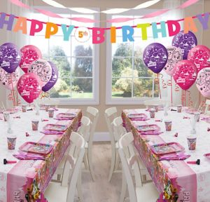 Pink PAW Patrol Deluxe Party Kit for 16 Guests