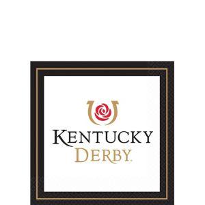 Kentucky Derby Beverage Napkins 16ct