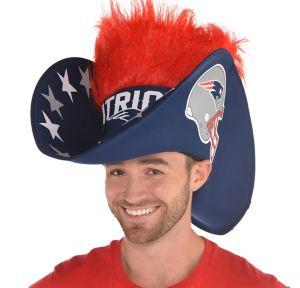 Giant New England Patriots Cowboy Hat