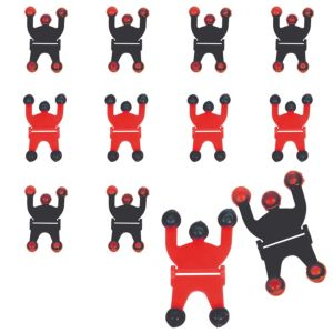 Black & Red Wall Climbers 48ct