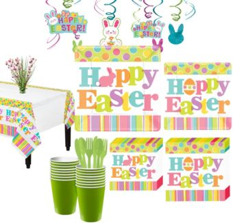 Easter Expressions Tableware Kit for 36 Guests