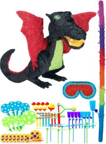 Black Dragon Pinata Kit with Favors