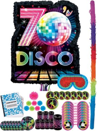 Disco Fever Pinata Kit with Favors