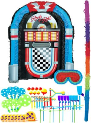 Jukebox Pinata Kit with Favors