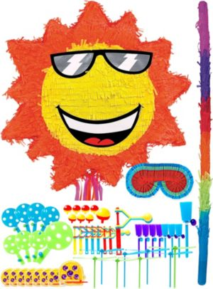 Sun Pinata Kit with Favors