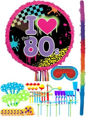Totally 80s Pinata Kit with Favors