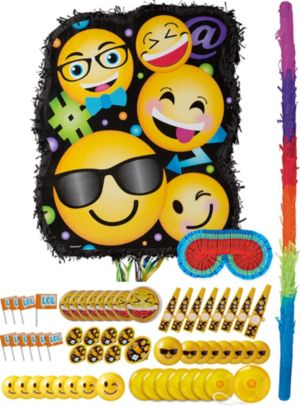 Smiley Pinata Kit with Favors