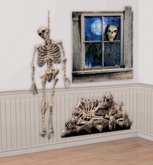 Skeleton Wall Decoration