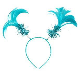 Turquoise Ponytail Head Bopper