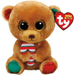 Bella Beanie Boo Bear Plush