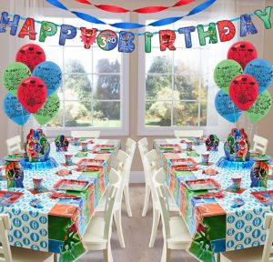 PJ Masks Deluxe Party Kit for 16 Guests