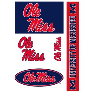 Ole Miss Rebels Decals 5ct