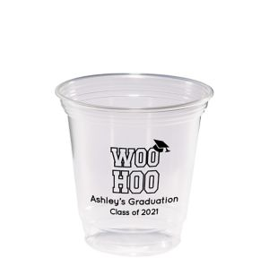 Personalized Graduation Plastic Party Cups 12oz