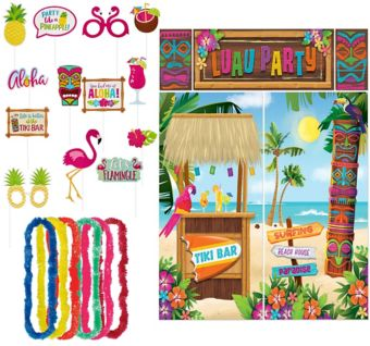 Luau Photo Booth Kit