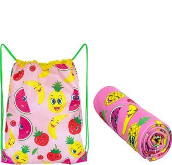 Fruity Beach Towel & Backpack