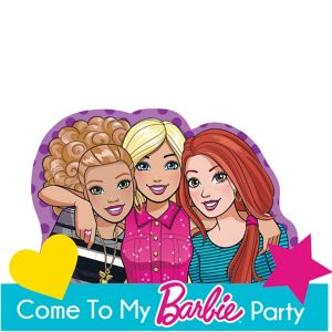 Barbie & Friends Invitations 8ct