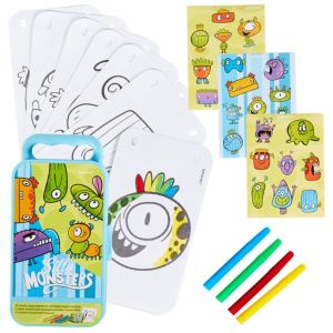 Silly Monsters Sticker Activity Box