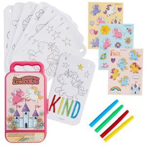 Rainbows & Unicorns Sticker Activity Box