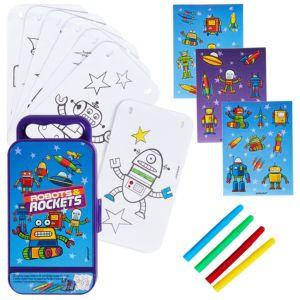 Robots & Rockets Sticker Activity Box