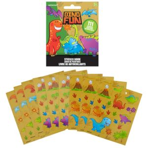 Dinosaur Sticker Book 9 Sheets