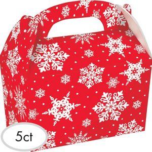 Snowflake Gable Boxes 5ct