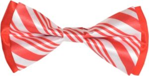 Candy Cane Bow Tie
