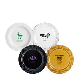Personalized Boys Birthday Premium Plastic Dessert Plates