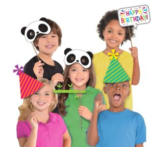 Panda-Monium Photo Booth Props 10ct