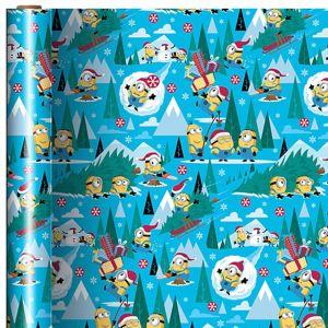 Minions Gift Wrap