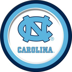 North Carolina Tar Heels Lunch Plates 10ct