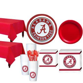 Alabama Crimson Tide Basic Party Kit for 40 Guests