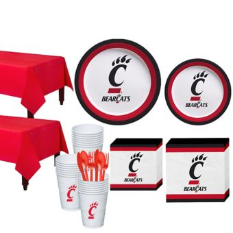 Cincinnati Bearcats Basic Party Kit for 40 Guests