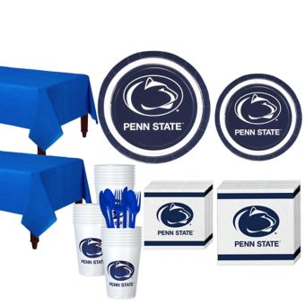 Penn State Nittany Lions Basic Party Kit for 40 Guests