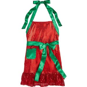 Sequin Christmas Apron