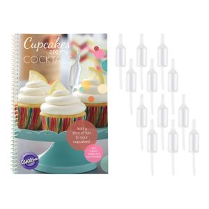 Wilton Shot Tops Infusers with Recipe Book 12ct