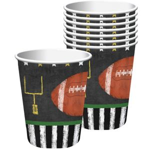 Football Game Time Cups 18ct