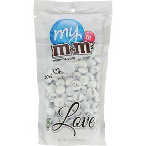 White Wedding Milk Chocolate M&M's