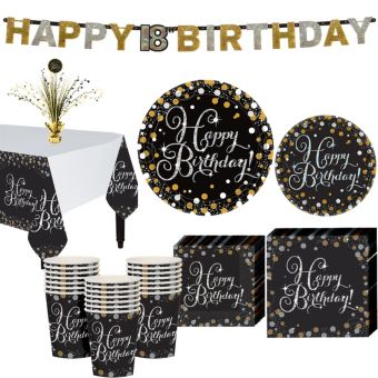 Sparkling Celebration Birthday Party Kit for 16 Guests