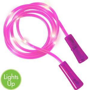 Light-Up Pink Jump Rope