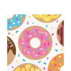 Donut Lunch Napkins 16ct