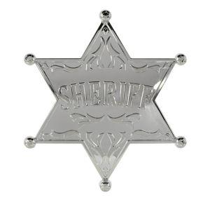 Large Western Sheriff Badge
